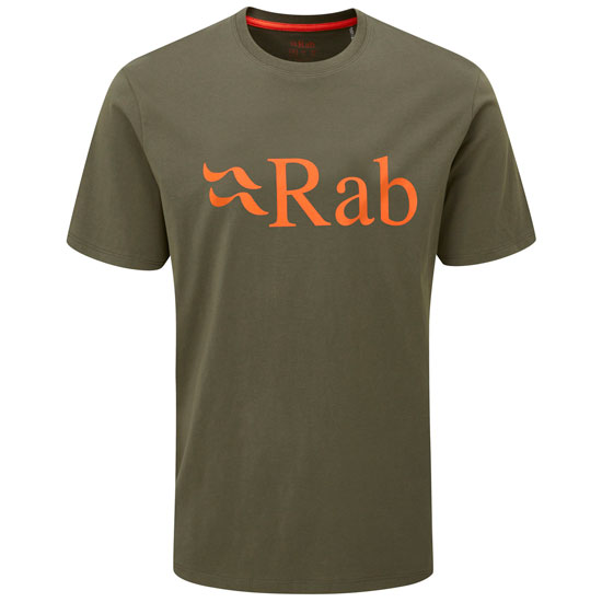 Rab Stance Logo Tee - Army