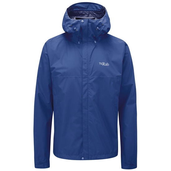 Rab Downpour Eco Jacket - Nightfall Blue