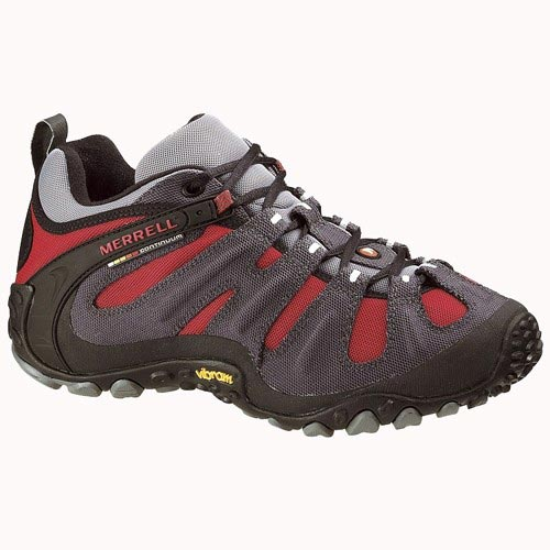 Merrell Chameleon Wrap Slam - Charcoal / Red