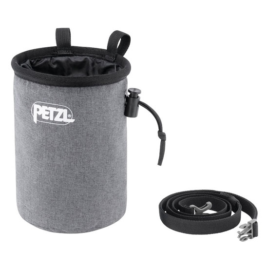 Petzl Bandi Chalk Bag - Grey