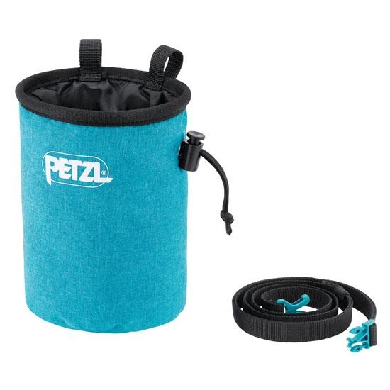 Petzl Bandi Chalk Bag - Turquoise