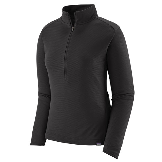 Patagonia Capilene Midweight Bike Jersey W - Black