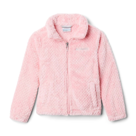 Columbia Fire Side Sherpa FZ Kids - Pink