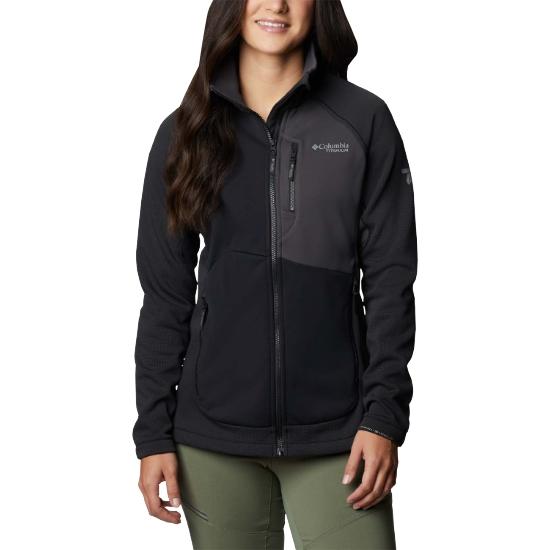 Columbia Powder Chute Fleece Jacket W - Black