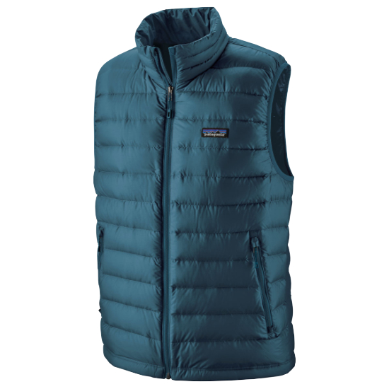 Patagonia Down Sweater Vest - Crater Blue