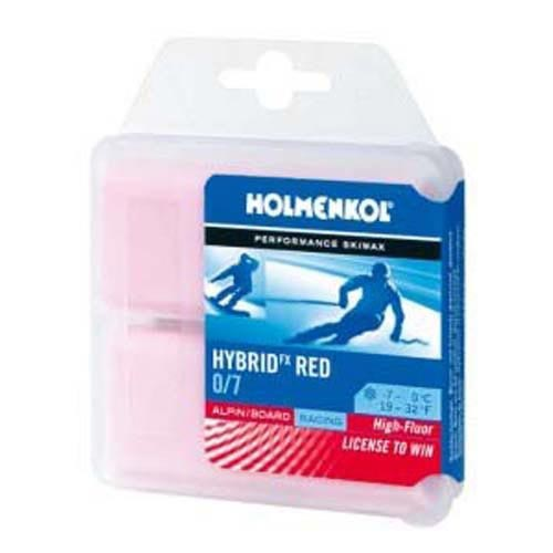 Holmenkol Hybrid FX Red 2x35g -