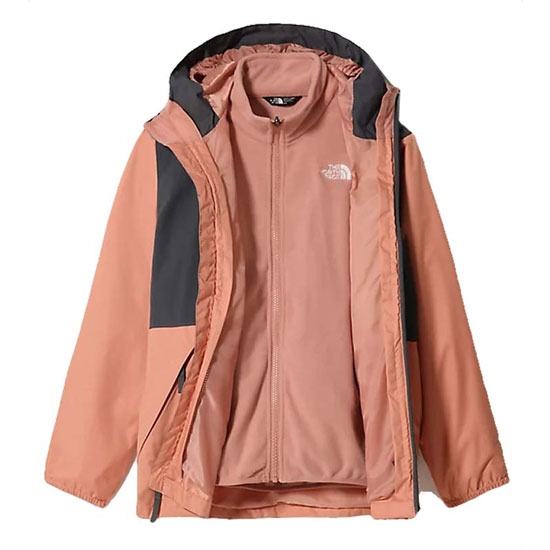 The North Face Elian Rain Triclimate Girl - Pink Clay