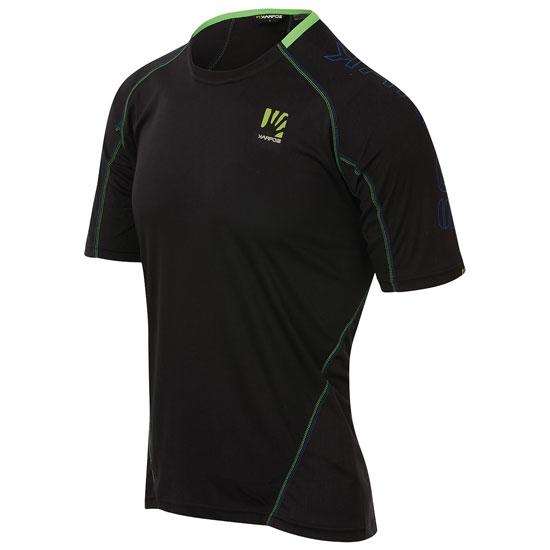 Karpos Swift Jersey - Black/Green Fluo
