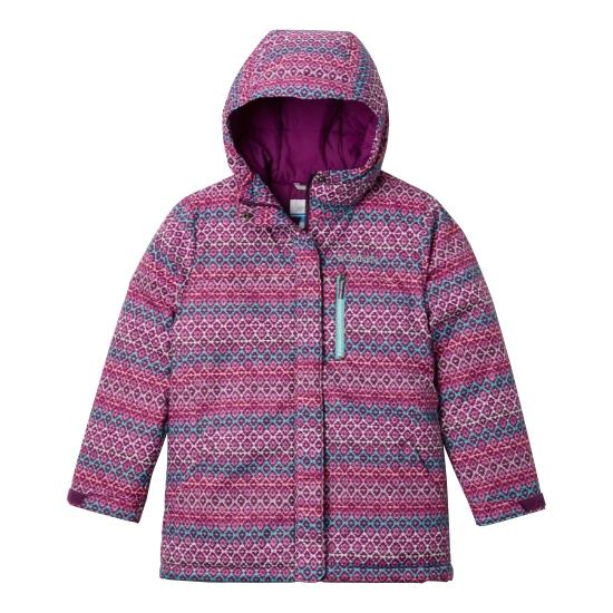 Columbia Alpine Free Fall II Jacket Girls - Purple