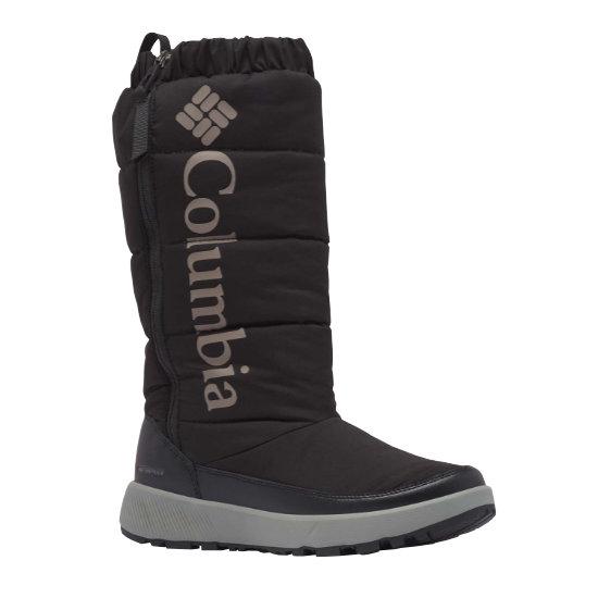 Columbia Paninaro Omni-Heat Tall W - Black Stratus