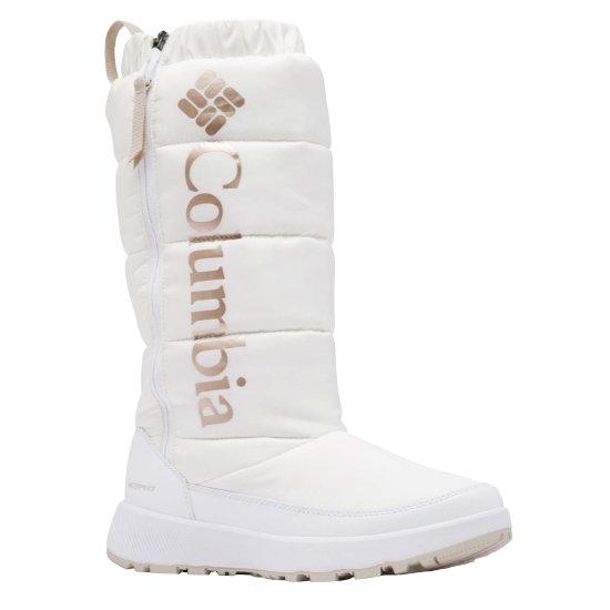 Columbia Paninaro Omni-Heat Tall W - White Warm Gold