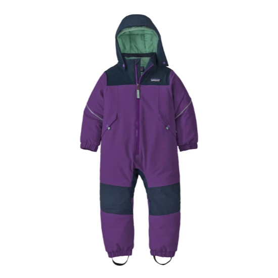 Patagonia Snow Pile One-Piece Baby - Purple