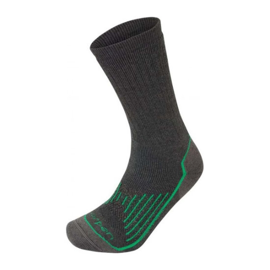 Lorpen T2 Midweight Hiker - Charcoal/Green