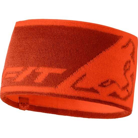 Dynafit Leopard Logo Headband - Orange