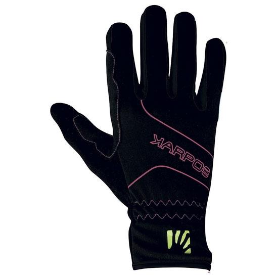 Karpos Alagna Glove - Pink Fluo/Black