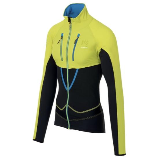 Karpos Alagna Lite Jacket - Sulphur Spring/Black