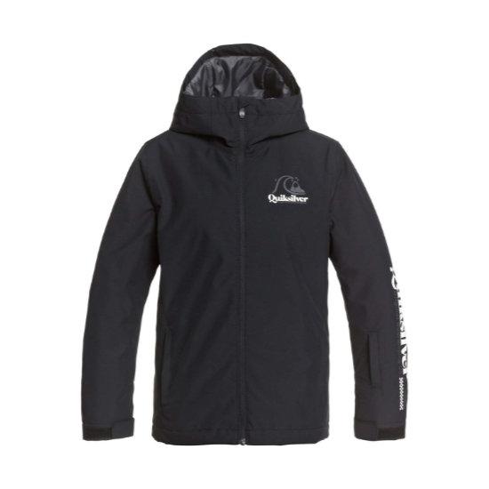 Quiksilver In The Hood Jacket Boy - True Black