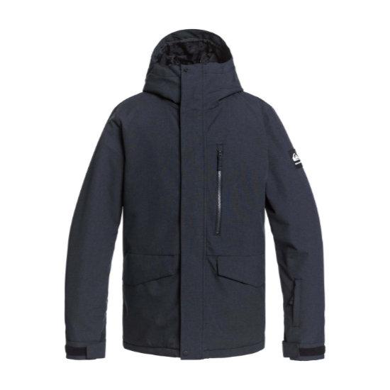 Quiksilver Mission Solid Jacket -  True Black