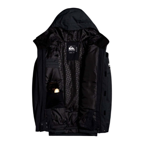 Quiksilver Mission Solid Jacket - Photo of detail