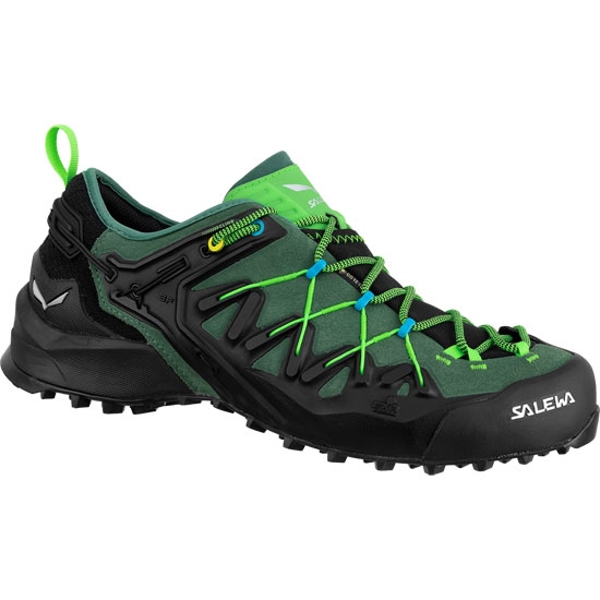 Salewa Wildfire Edge GTX - Myrtle/Fluo Green