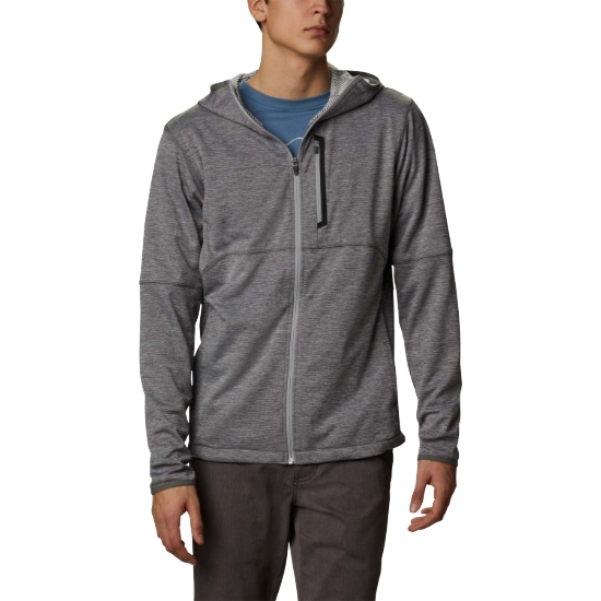 Columbia Tech Trail Fz Hoodie - Grey