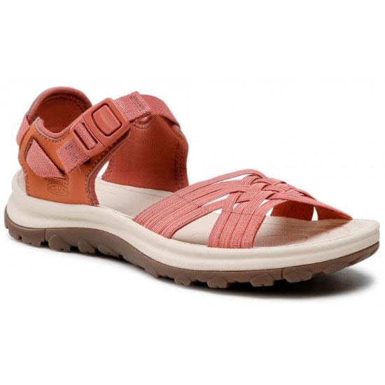 Keen Terradora II Strappy Open-Toe Sandals W - Redwood/Pheasant