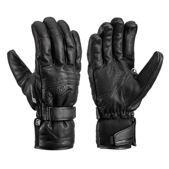 Leki Fusion S Touch Glove - Black