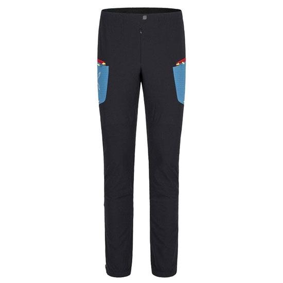Montura Ski Style Pant - Nero/Blu Ottanio