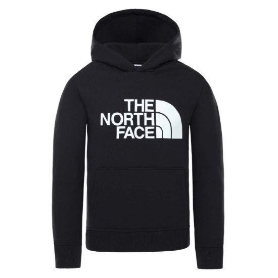 The North Face Drew Peak Hoodie Jr - Tnf Blk/Glow In Th