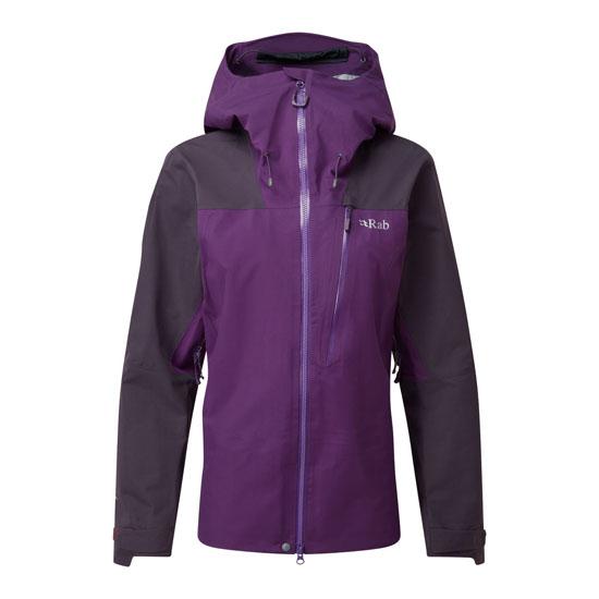 Rab Ladakh Gtx Jacket W - Fig/Blackcurrant