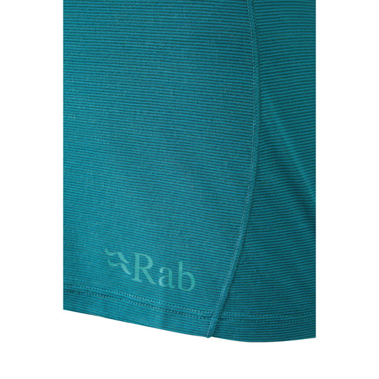 Rab Forge Ls Tee W - Photo of detail