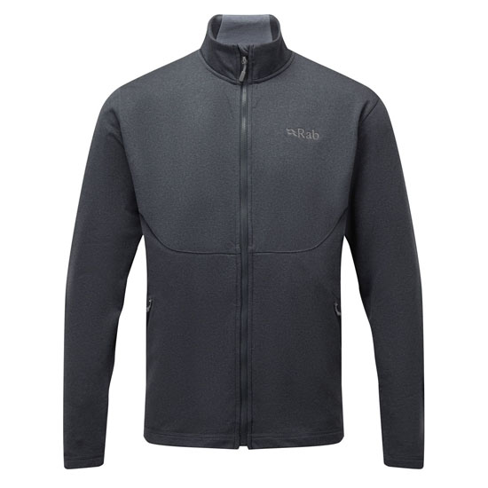Rab Geon Jacket - Black/Steel Marl