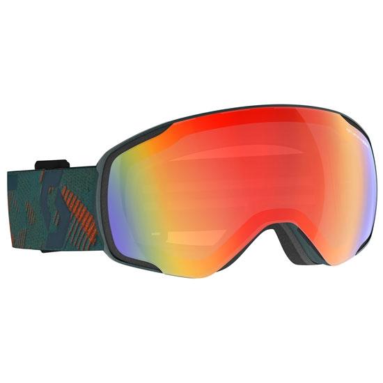 Scott Vapor LS Photochromic 2-3 - sombre green/pumpkin orange / light sensitive red chrome