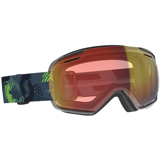 Scott Linx LS Photochromic 2-3 - ultralime green/storm grey / light sensitive red chrome