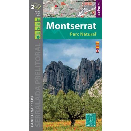 Ed. Alpina Mapa Montserrat 1:10000 1:15000 -