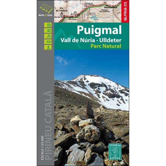 Ed. Alpina Mapa Puigmal Núria Ulldeter 1:25000 -