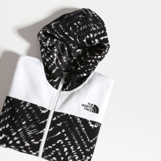 The North Face Glacier Fz Hoodie Girl - Detail Foto