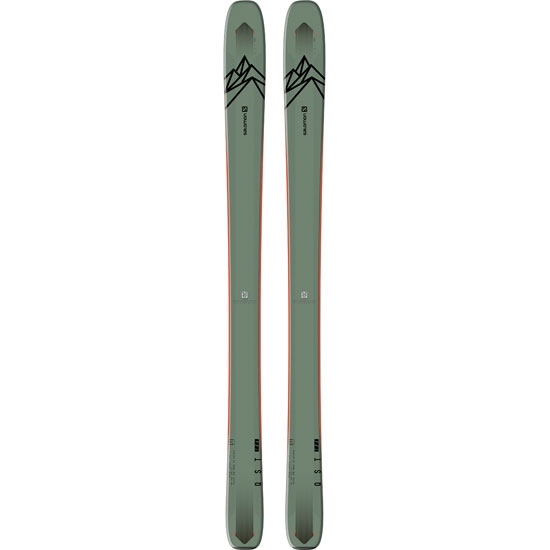 Salomon Skis N Qst 106 - Oil Gree/Orange