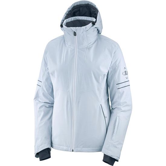 Salomon The Brilliant Jacket W - Kentuc/White/Ebony