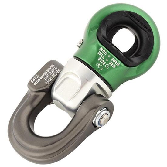 Dmm Focus Swivel D - Silver/Green
