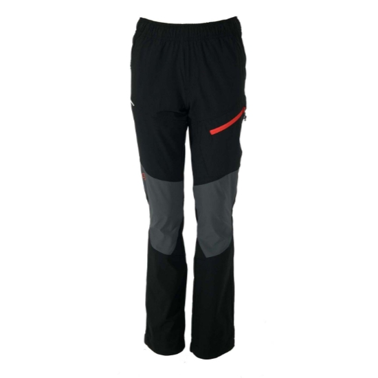 Ternua Appic Pant Jr - Black/Orange Red