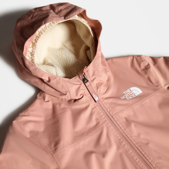 The North Face Warm Storm Rain Jacket Girl - Photo of detail