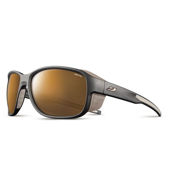 Julbo Monterosa 2 Reactiv High Mountain 2-4 - Black/Brown