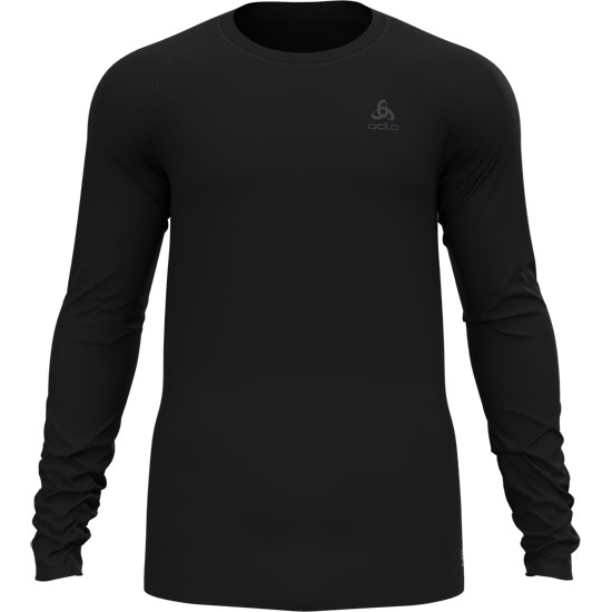 Odlo Active F-Dry Light Eco Bl Top Crew Neck L/S - Black