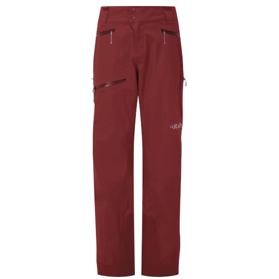 Rab Khroma Kinetic Pants W - Oxblood Red