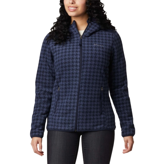 Columbia Winter Pass Print Fleece W - Blue