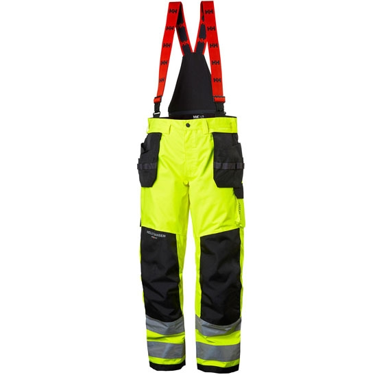 Helly Hansen Workwear Alna Shell Constr Pant - Yellow/Ebony