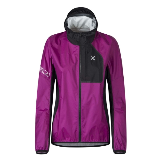 Montura Rain Safe 2.0 Jacket W - Fuxia