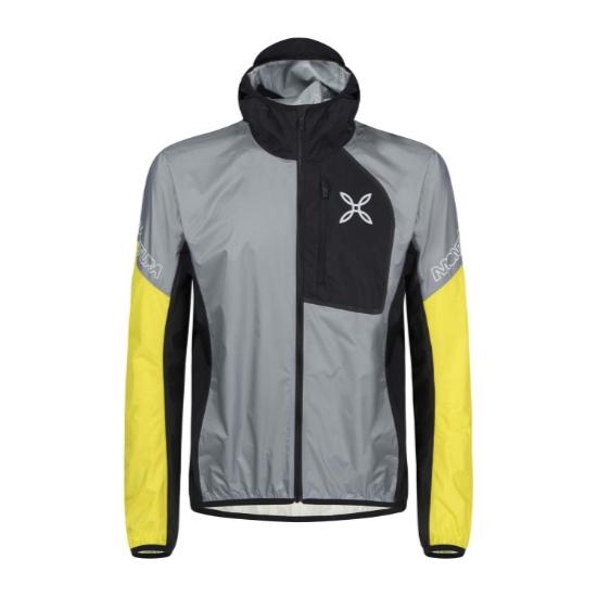 Montura Rain Safe 2.0 Jacket - Grigio Medio/Giallo