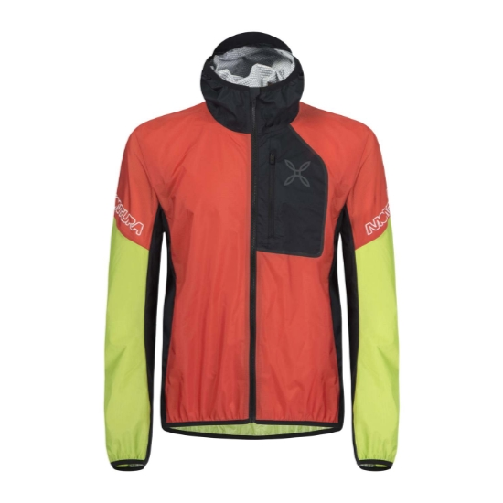 Montura Rain Safe 2.0 Jacket - Aragosta/Verde Acid